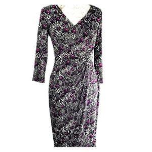 White House Black Market Size 6 Dress